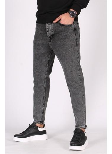 Madmext  Koyu  Oversize Erkek Jean 5102 Siyah